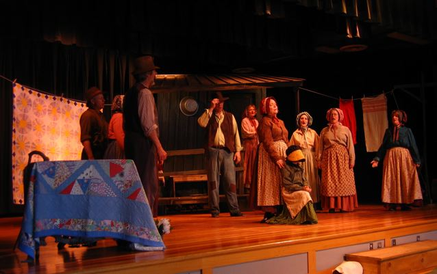 Revels Rep at the Brett School, May 1