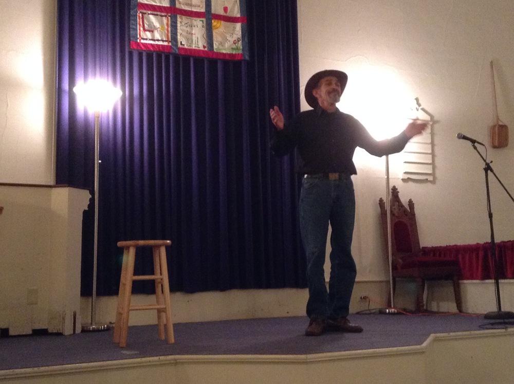 Storyteller Arthur Surette