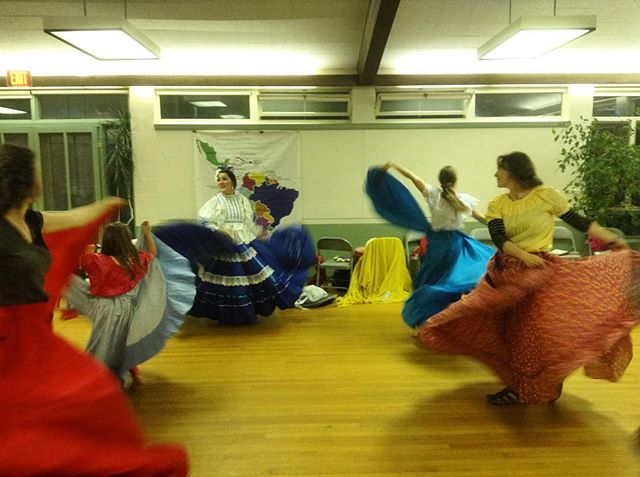 So much fun watching everyone dance at last night's dance performance and workshop with Verónica Robles! Join us Friday at 7:30 at The Barnstormers for an evening concert, with Verónica and her band, of gorgeous music, singing, dancing and costume from Mexico and across Latin America. Choose Your Own Ticket Price! Please tell your friends. #veronicarobles #artstamworth