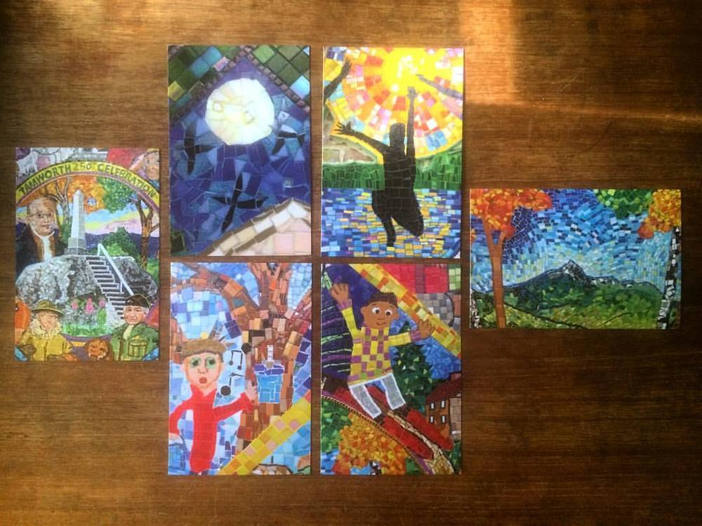 Mosaic postcards—get them while you can.