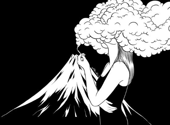 """""""Head in the Clouds""""- Henn Kim"""