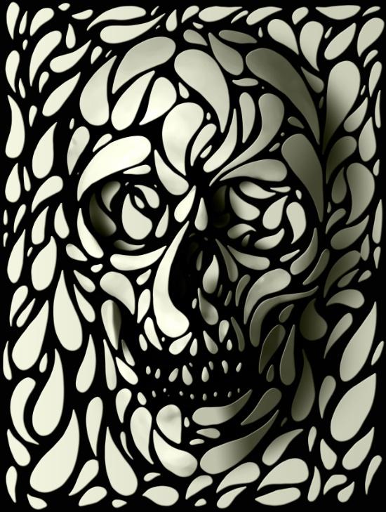"""""""Skull""""- Ali GULEC"""