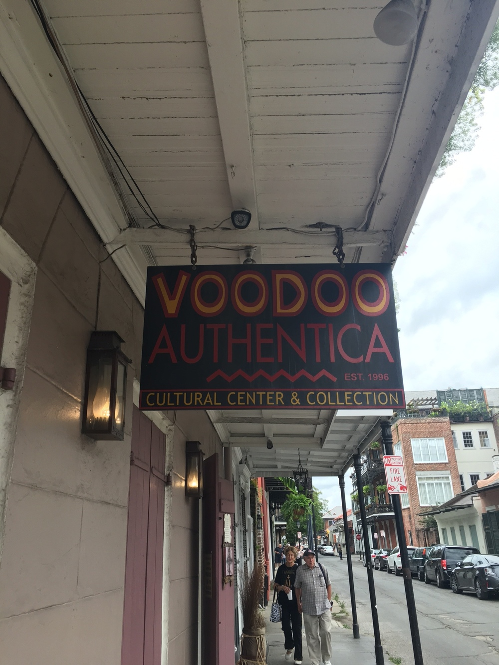 The first Voodoo store we visited.