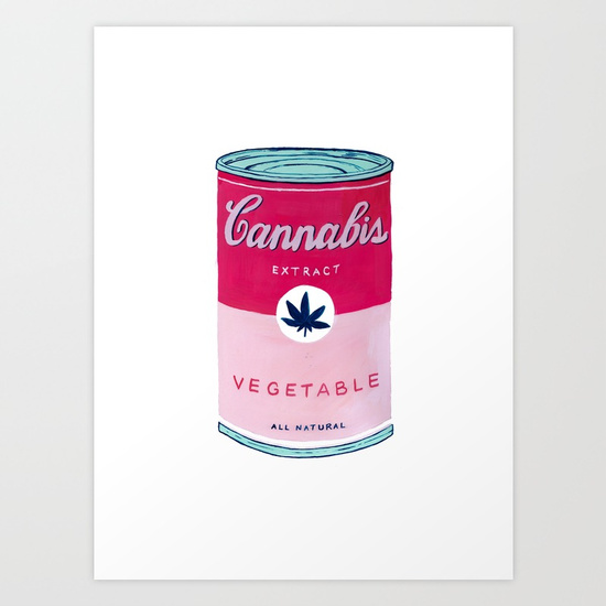 """CANNABIS SOUP"" by Jenna Mhairi"