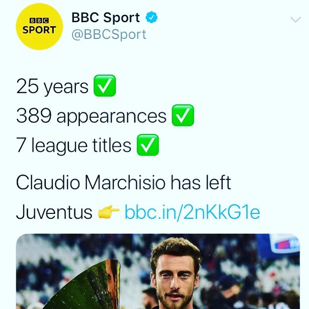 We will have to ask our man Steve Gennaro or our good friend the ever awesome @david.amoyal & listen to his CalcioLand Podcast if this latest Marchisio move means 🇮🇹🛫🇺🇸🇨🇦 Major League Soccer