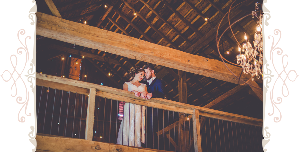 Husband & Wife | Vintage Oaks Banquet Barn | Delphi Indiana Event Venue
