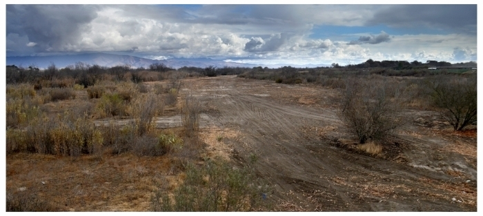 CompleteD Salinas River secondary channel during dry period.