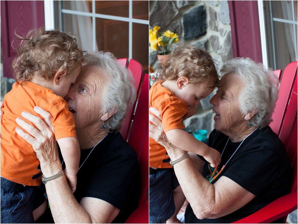 Finn & his great-grandma
