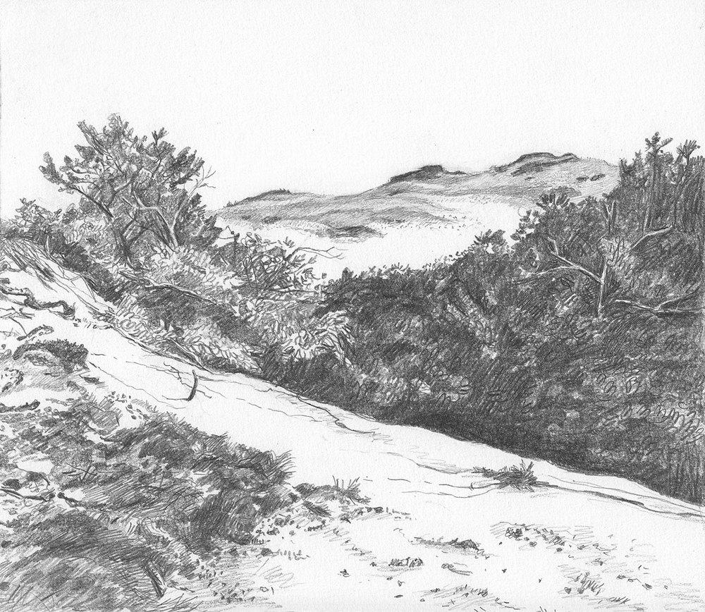 Three Sand Peaks
