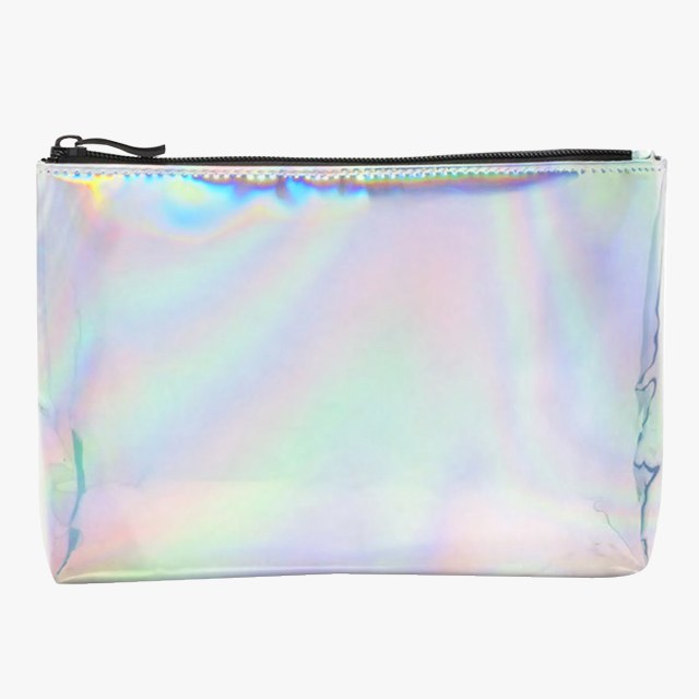 Forever 21 Holographic Makeup Bag, $8