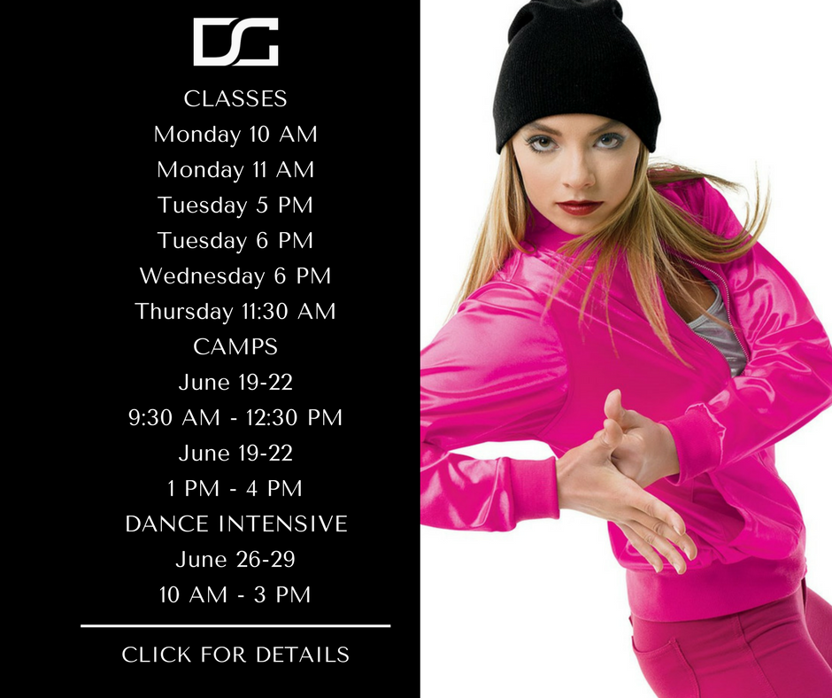 Class Tuition:  $75/mo or $125 10 Class Punch Card Multi-Class Discounts Available Camp Tuition: $150 Dance Intensive: $385