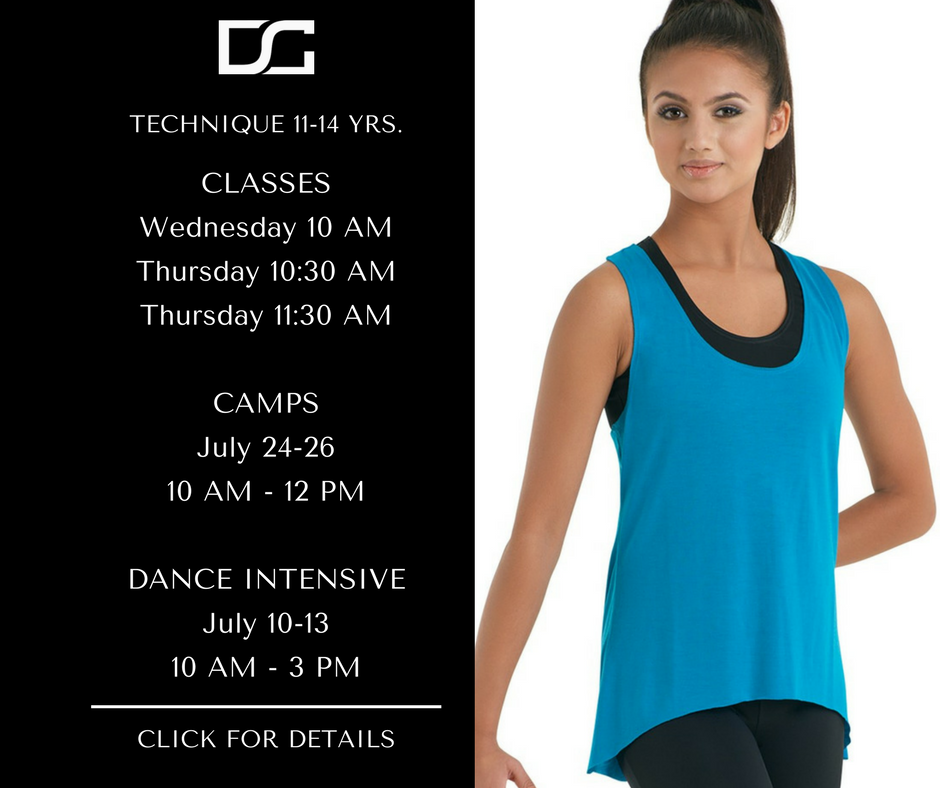 Class Tuition:  $75/mo or $125 10 Class Punch Card Multi-Class Discounts Available Camp Tuition: $105 Dance Intensive: $400