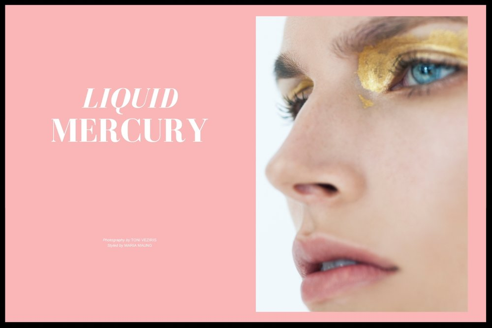 Liquid Mercury