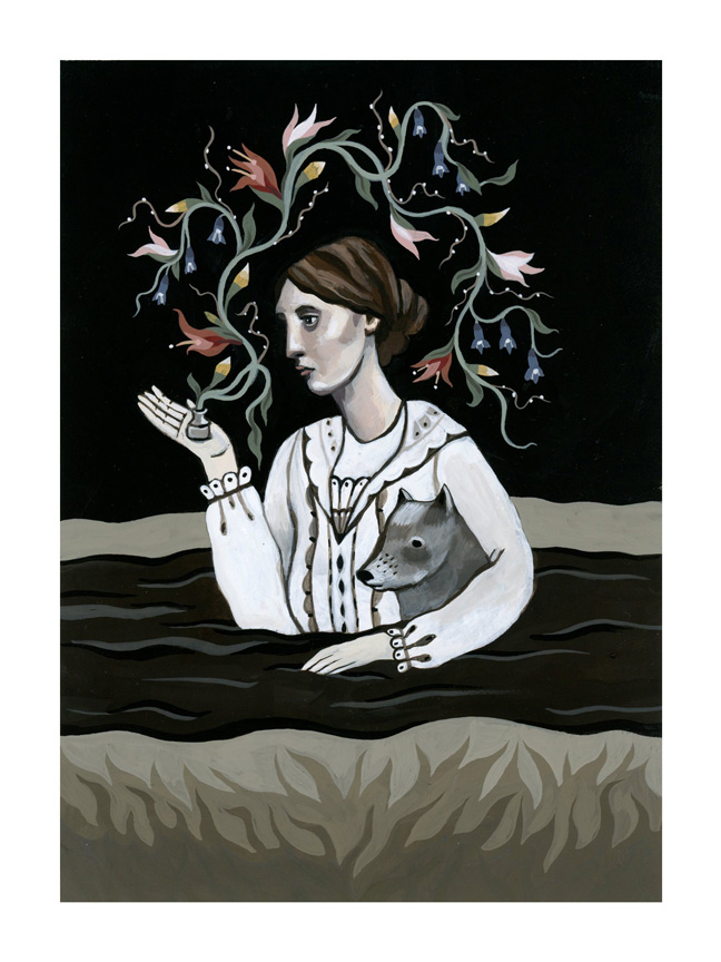 Virginia Woolf: Witch of the Waters, the Porcelain, the Lexicon