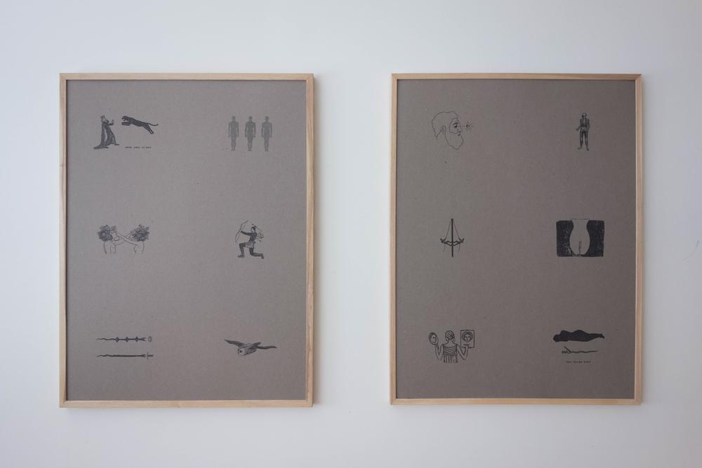 Studio:30 x 40 in prints