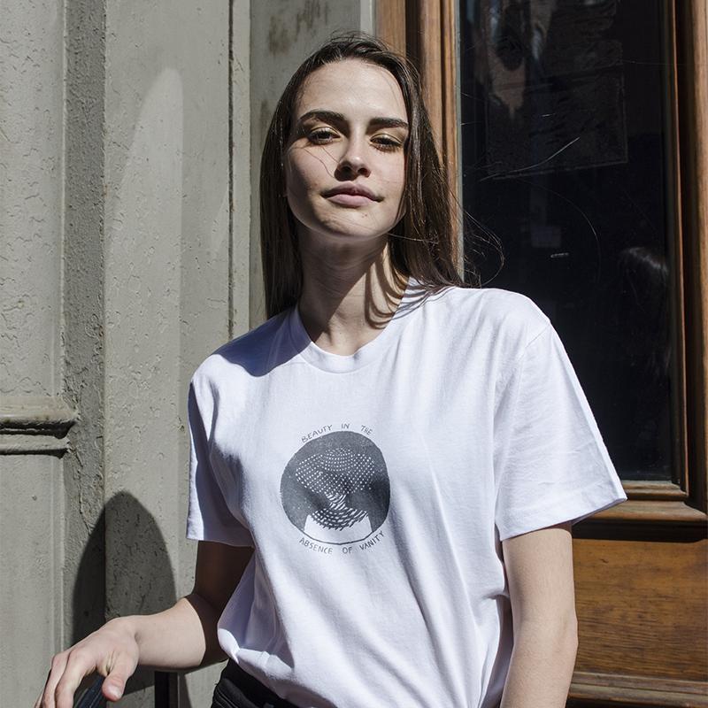 Nylon x Samsonovich t-shirt collaboration visit shop.nylon.com