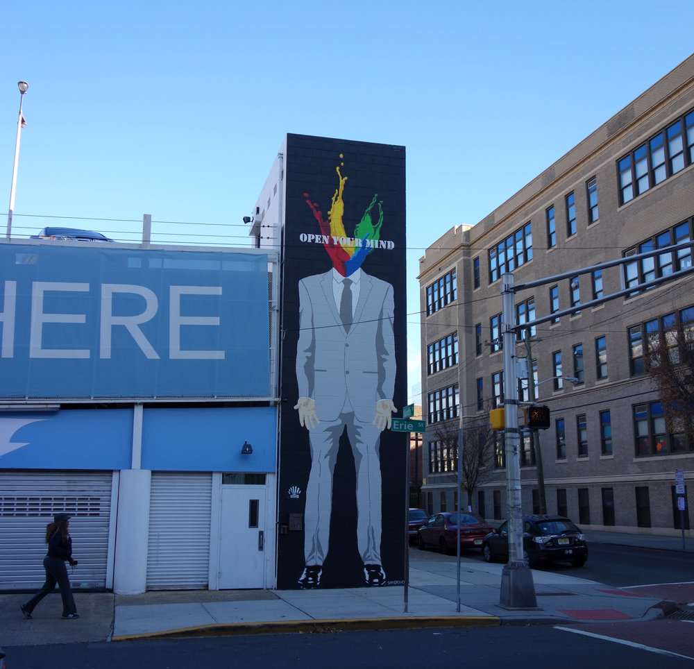 Mural for Jersey City