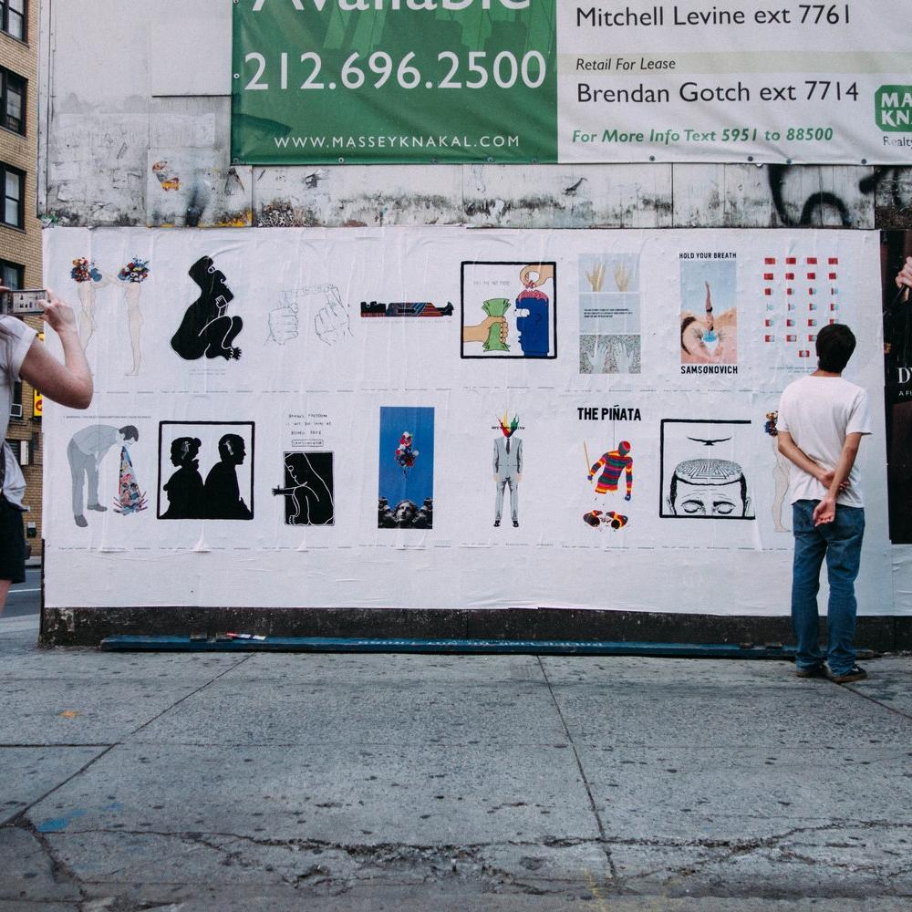 PUBLIC ART CAMPAIGN 2015