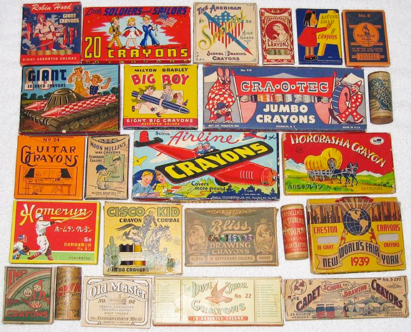 Crayons History