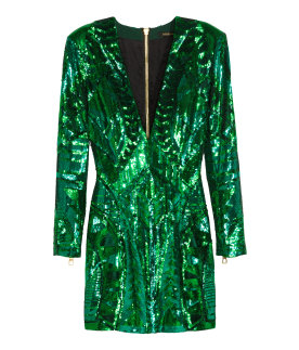 Sequin-Embroidered Dress $199