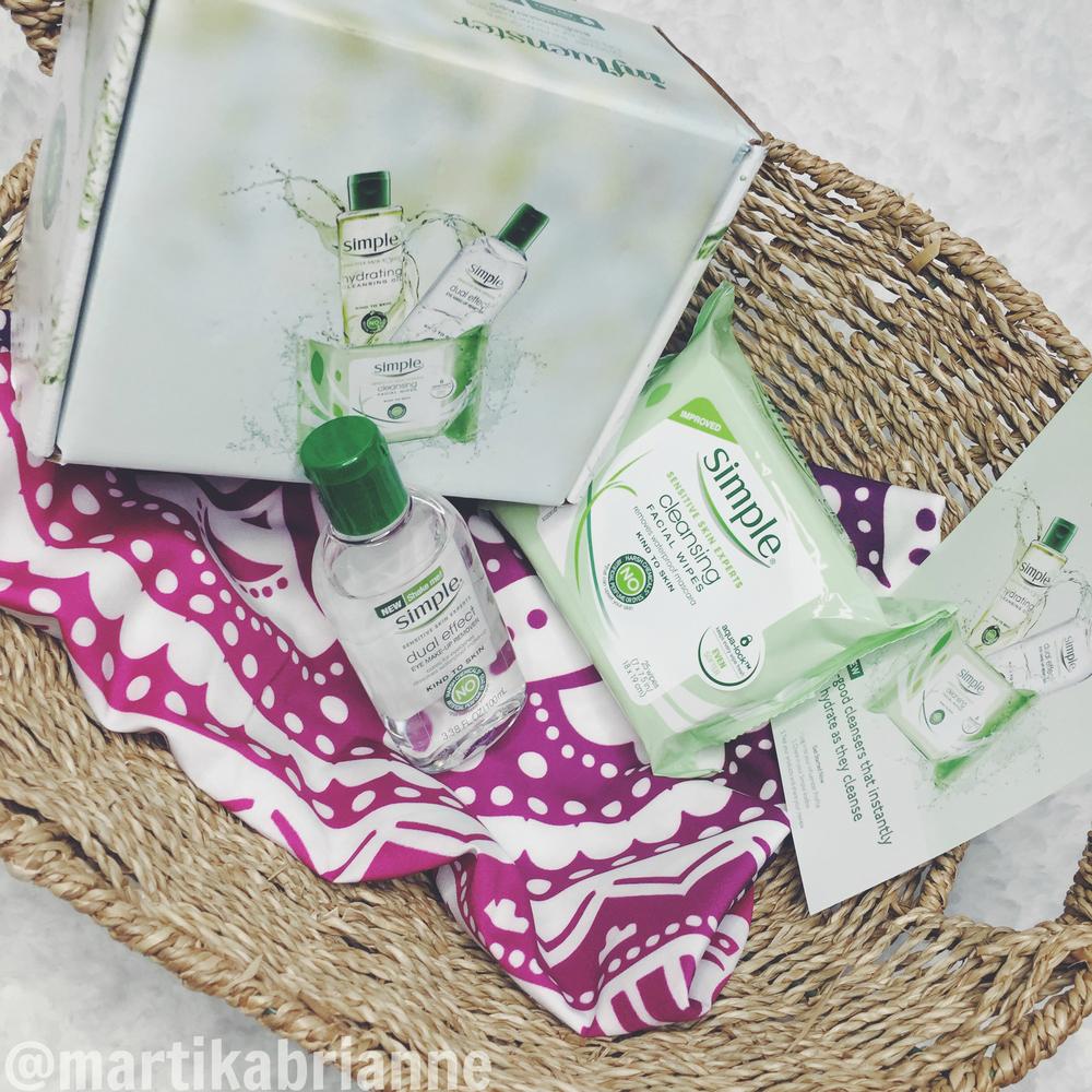 Influenster - Simple Skincare VoxBox #SimpleSkincare #contest