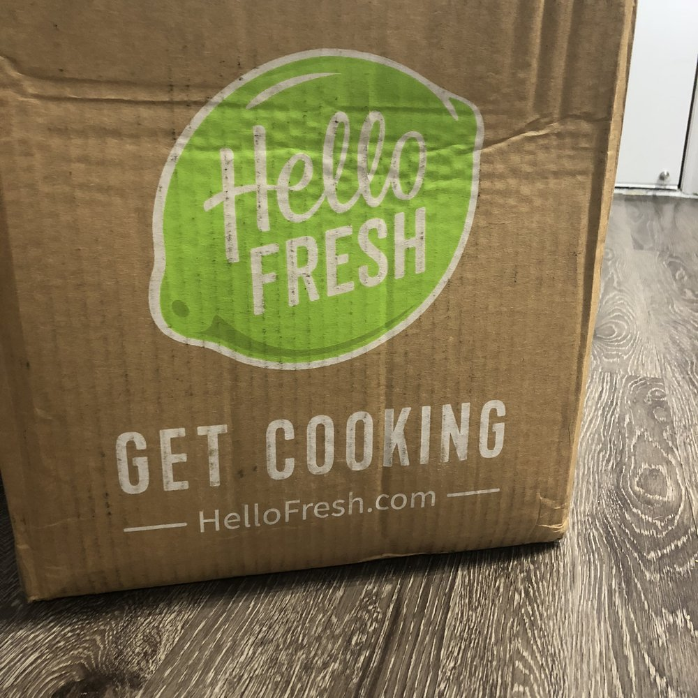 We were so excited to see HelloFresh at our doorstep!