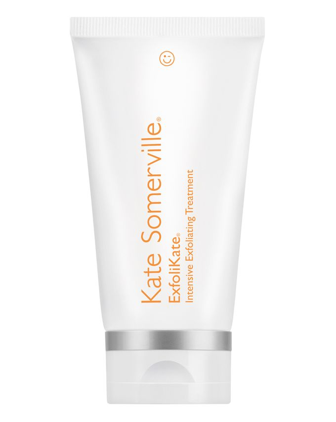"KATE SOMERVILLE - EXFOLIKATE INTENSIVE EXFOLIATING TREATMENT - BENEFITS: Dramatically smooths skin, Improves appearance of skin texture, pores, and fine lines and wrinklesAlso available at Sephora & UltaI know we've been talking about my DAILY products, but let's move on to exfoliation. As someone who is in the beauty industry, I cannot express enough how important it is to exfoliate your skin (not just your face, but your ENTIRE BODY)! This particular face exfoliant is to be used once or twice a week. It is on the pricier side, but it is so worth it! Plus, a little goes a long way! They are kidding when they say ""intensive,"" so much that they have an ExfoliKate Gentle version if you have super sensitive skin. I have sensitive skin, but I can manage this exfoliant, plus it gives amazing results! I never even heard of this product until I received it in my FabFitFun Winter Box 2017 (which you should totally subscribe to, BTW), and I am HOOKED! I wash my face, apply the scrub, massage onto wet skin for 30 seconds, leave on for a minute or two, then I rinse off the scrub. It gives off a tingly sensation when it's on my skin, which lets me know it's working, and I notice a big difference every time I use this exfoliating treatment. My pores definitely appear smaller and my skin is so much smoother!"
