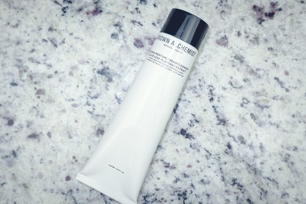 GROWN ALCHEMIST ($49) - HYDRA-RESTORE CREAM CLEANSER: Olive Leaf & Plantago Extract
