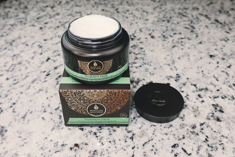 MOROCCAN GOLD SERIES TREATMENT MASK ($49) - This mask smells sooooo good!