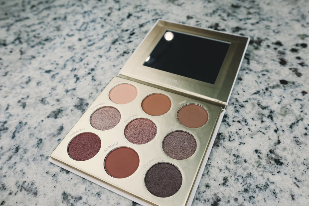 PUR BE YOUR SELFIE PALETTE ($36) - Such a shimmery and pigmented palette!