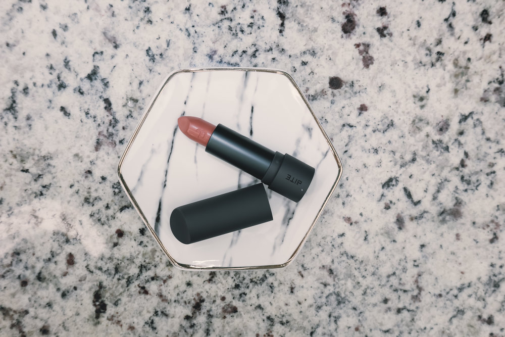 "BITE BEAUTY AMUSE BOUCHE LIPSTICK ($26) - This beautiful color is ""Meringue!"""