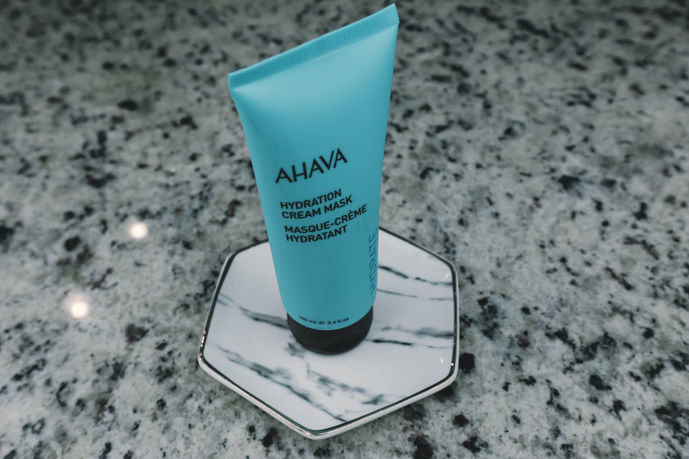 AGAVA HYDRATION CREAM MASK ($33) - This makes your skin silky smooth!