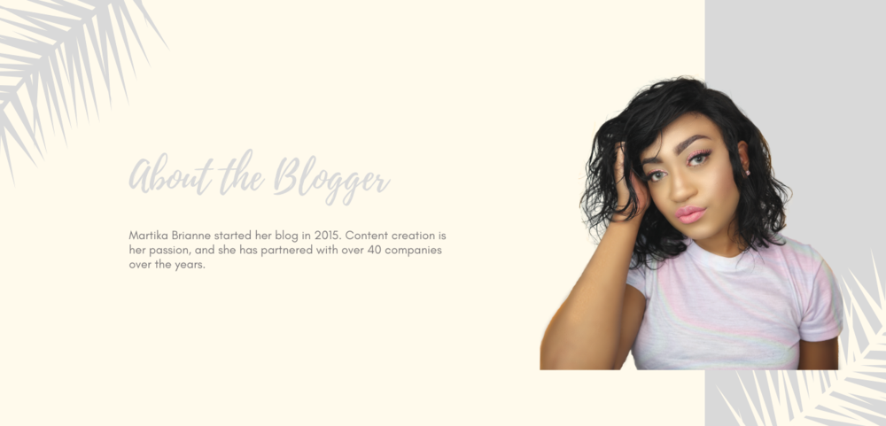 Martika Brianne started her blog in 2015. She content creation is her passion, and she has partnered with over 40 companies over the years..png