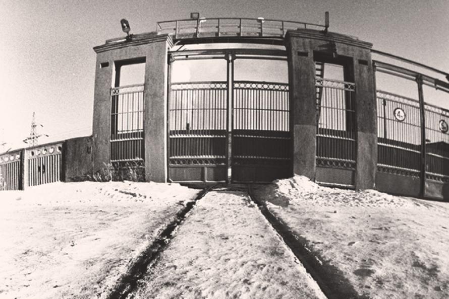 Одна из точек контроля – проходной пункт Воткинского машиностроительного завода (Удмуртия), 1988 г.    РИА Новости