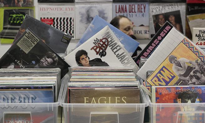 Lovers of vinyl will find plenty to buy.                                              Sergei Golovko / MT