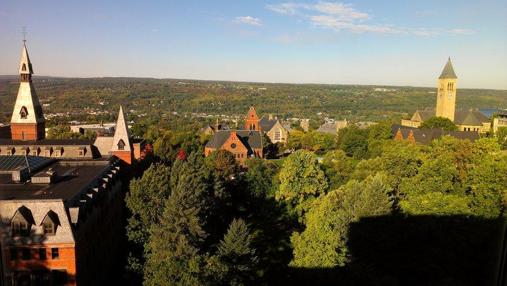 Корнелльский университет, Итака,Нью-Йорк.