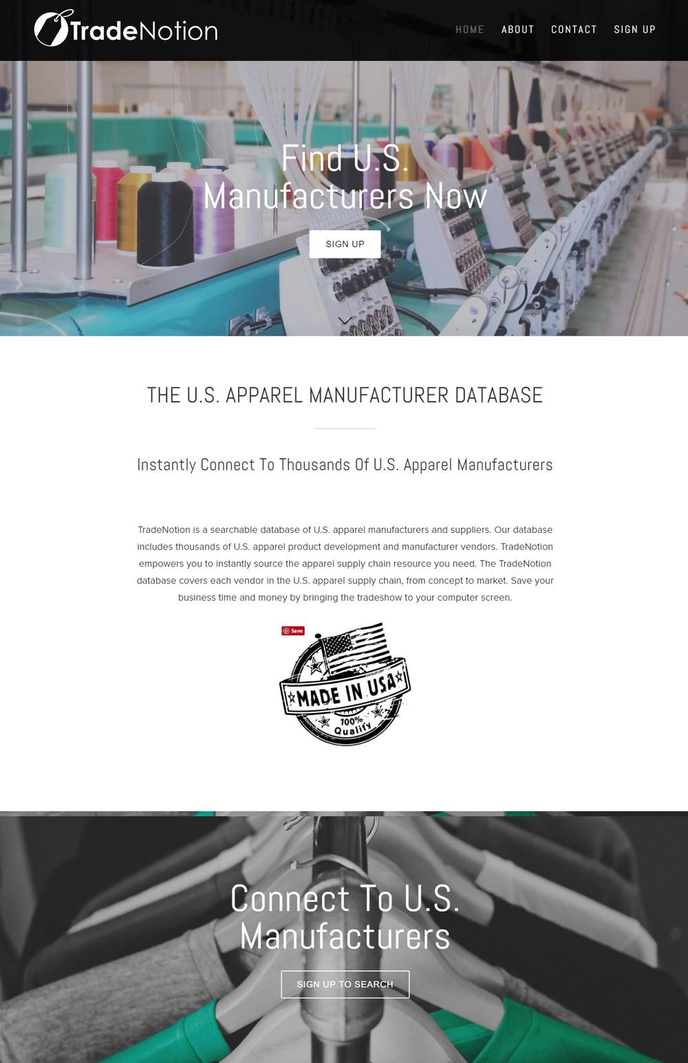 TradeNotion Patrick Judge Website Design Bend Oregon