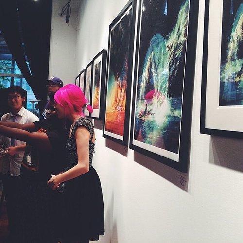 MOMENTS II exhibition, Bottleneck Gallery, 2014