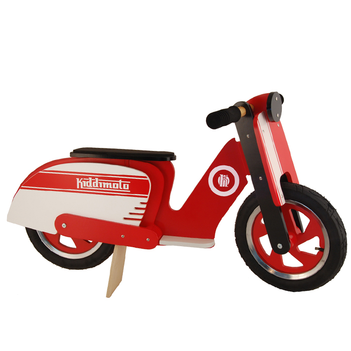 Kinderlaufrad-rot_red-stripe-Scooter_Kiddimoto-410_red-white_Holzlaufrad-Vespa_Laufrader_Holz-Laufrader_Lauflernrad_retro-pedals.de.jpg