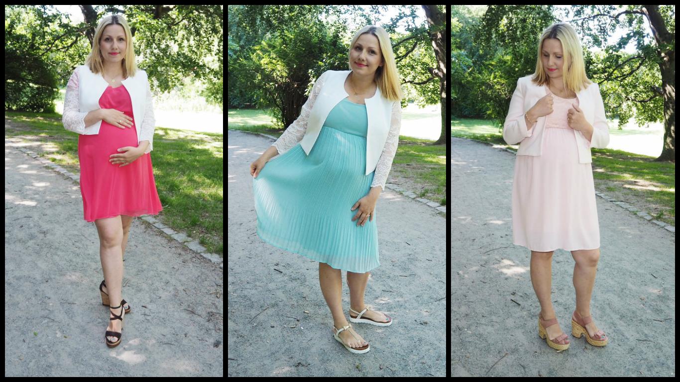 Pretty Mama // Schöne Kleider für schwangere Trauzeuginnen