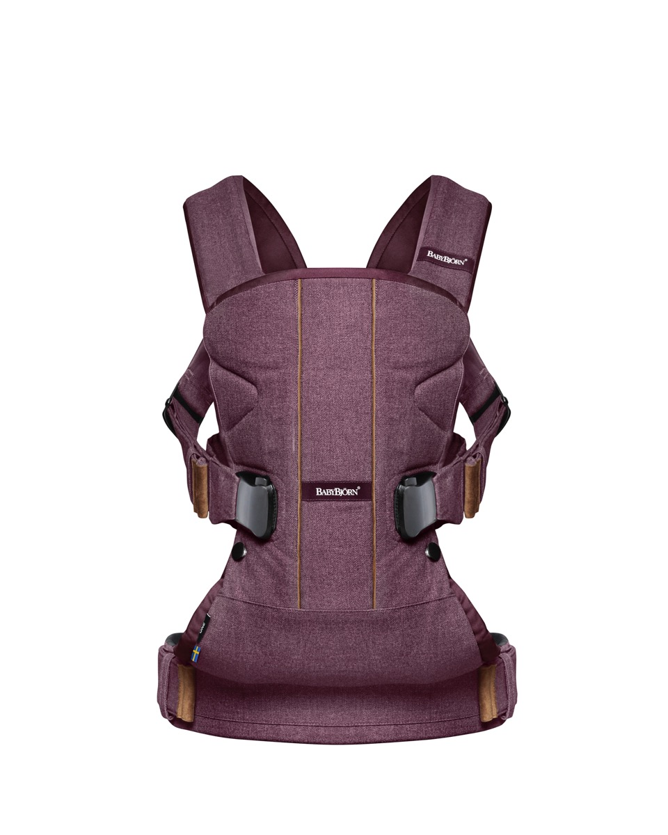 Baby Carrier One - Blackberry red, Cotton Mix.jpeg