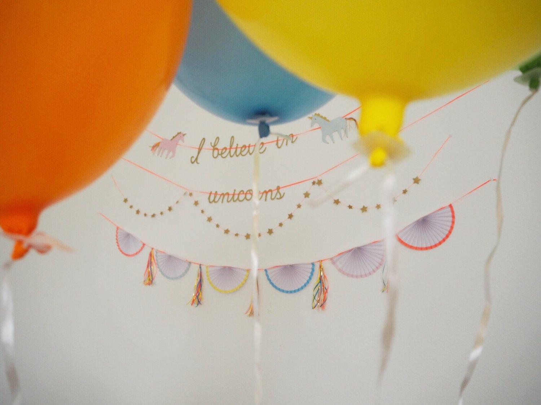 Today was a fairytale // Einhörner & Regenbögen zum Kindergeburtstag