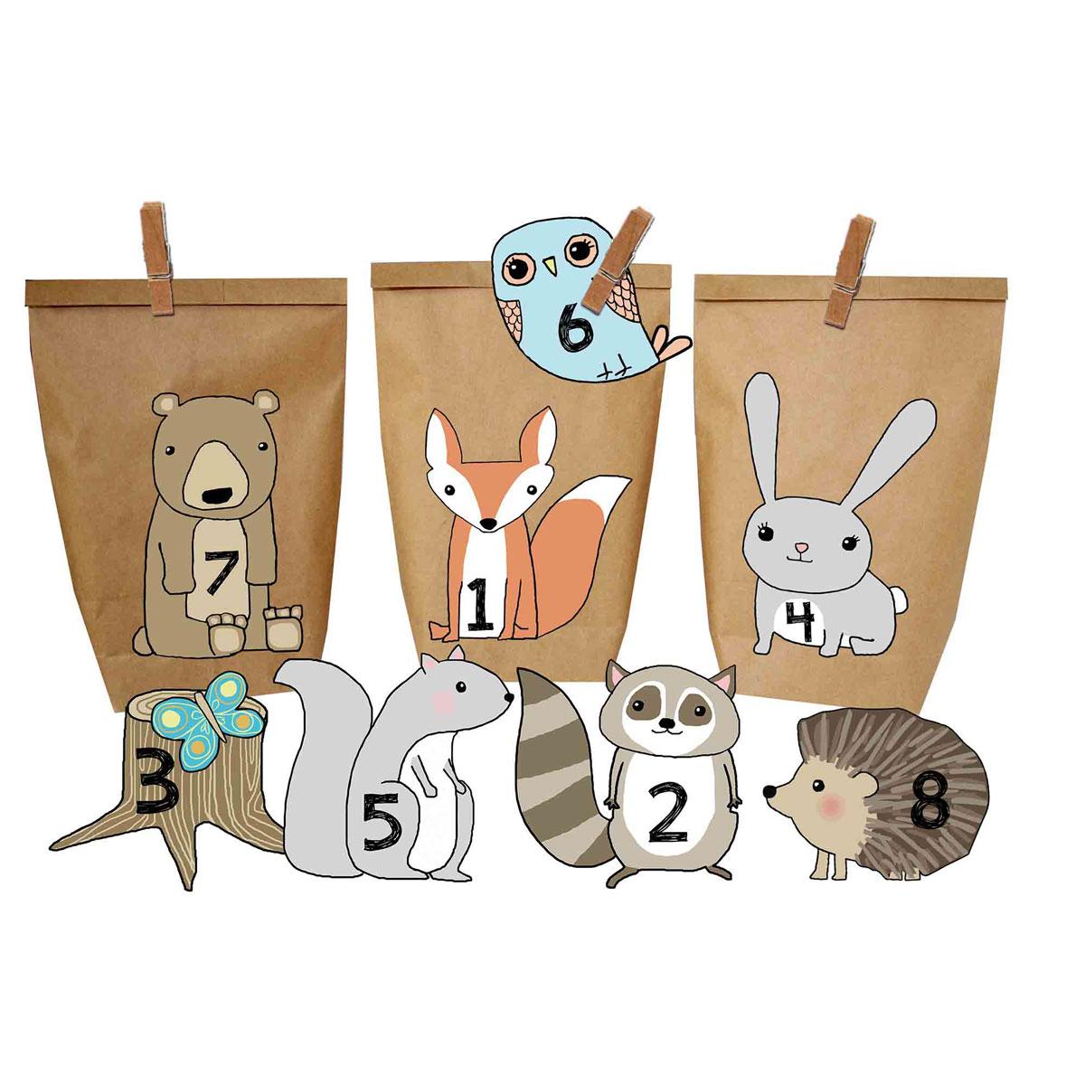 Mini-Geschenke // Was kommt in den Adventskalender für Kinder?