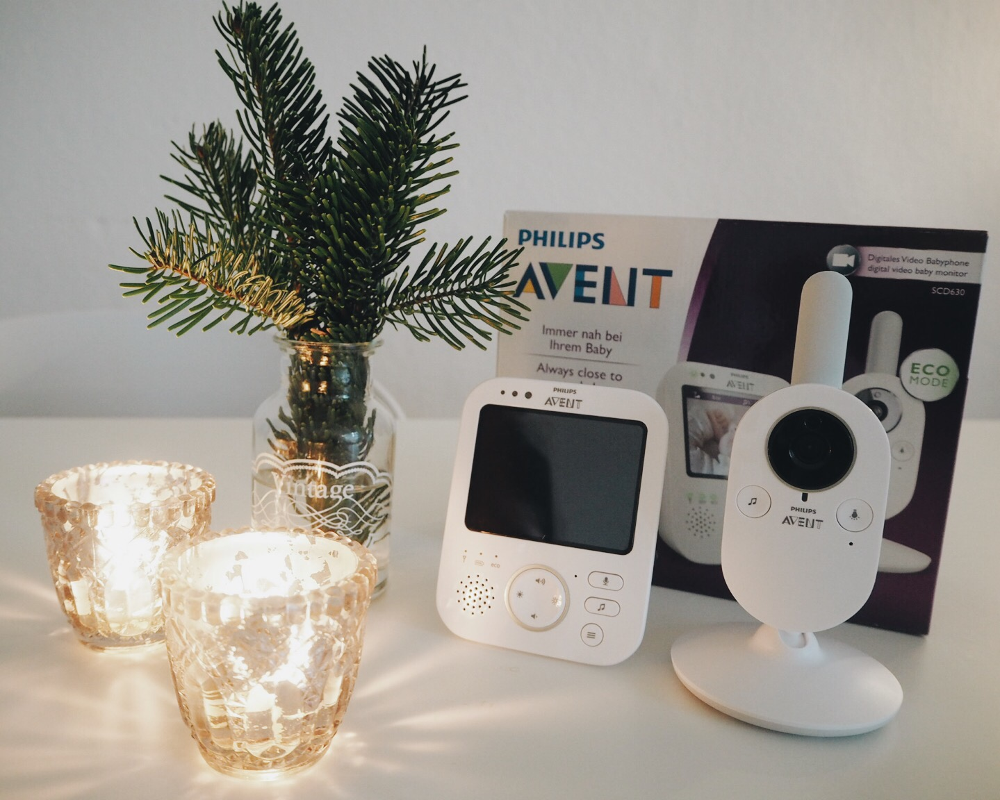 1. Adventsverlosung // Digitales BabyPhone von Philips Avent (closed)