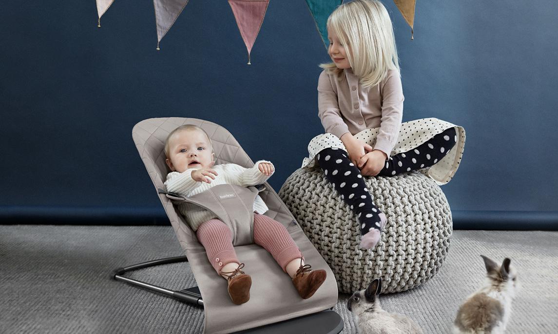 Little Helper // Die neue Babywippe Bliss von BabyBjörn ist da