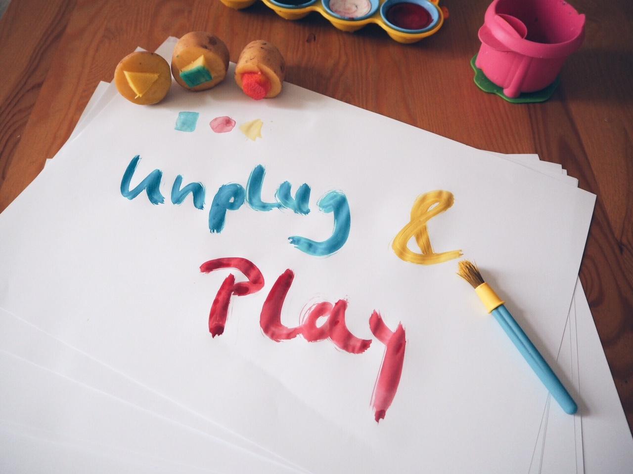 Unplug & Play // Spieleideen für Schmuddelwettertage