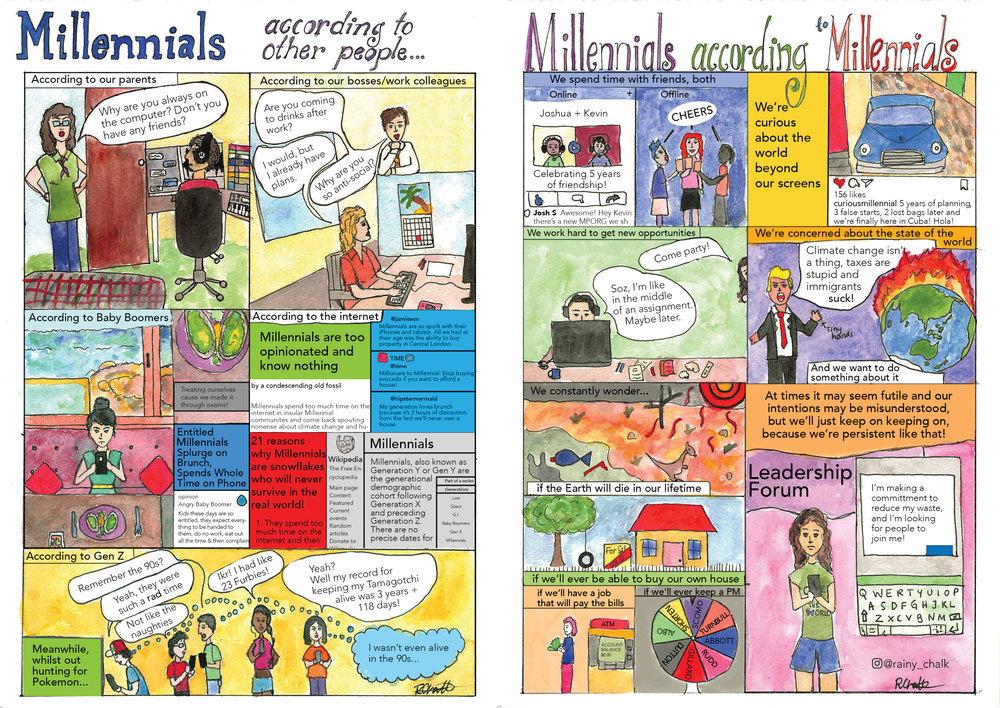 Comic by  Renuka Chalk .