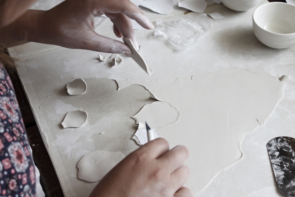 Amy Hick Ceramic Artist, Studio Visit 2015. Photo: Madeline Young
