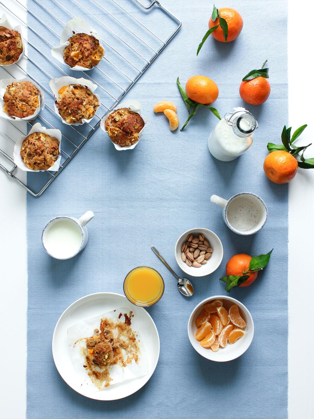 Magdalenas de mandarina_Mandarin Muffins