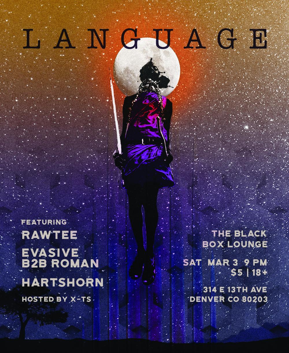 Language 039 -Rawtee / Evasive b2b Roman / Hartshorn